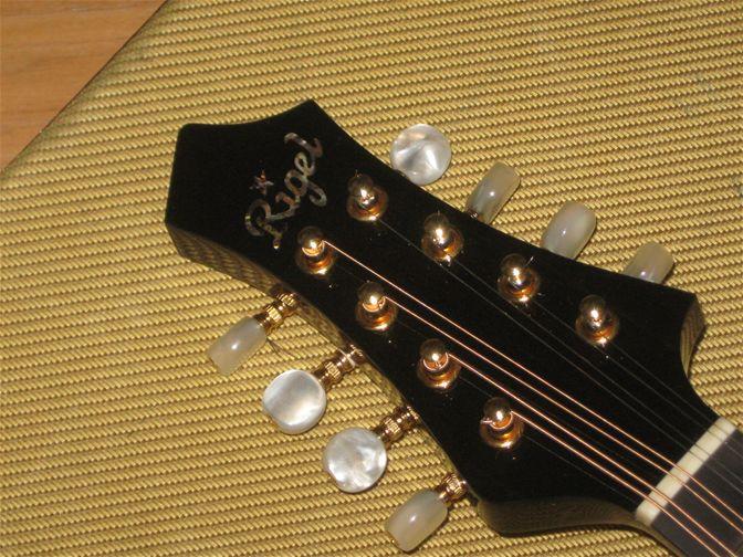 Used Rigel Mandolin Gypsy Q95 - SOLD